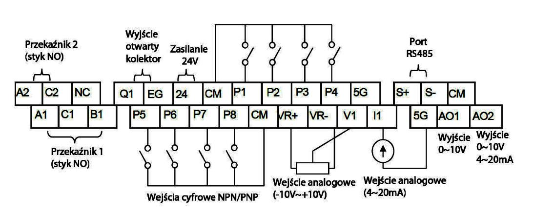 LG iS7 - schemat falownika